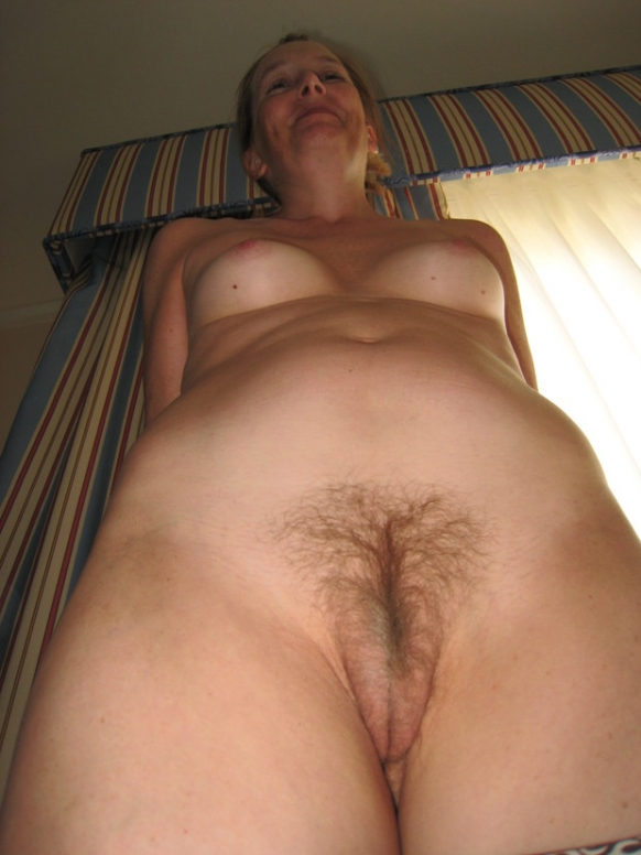 For hairy blonde wife naked