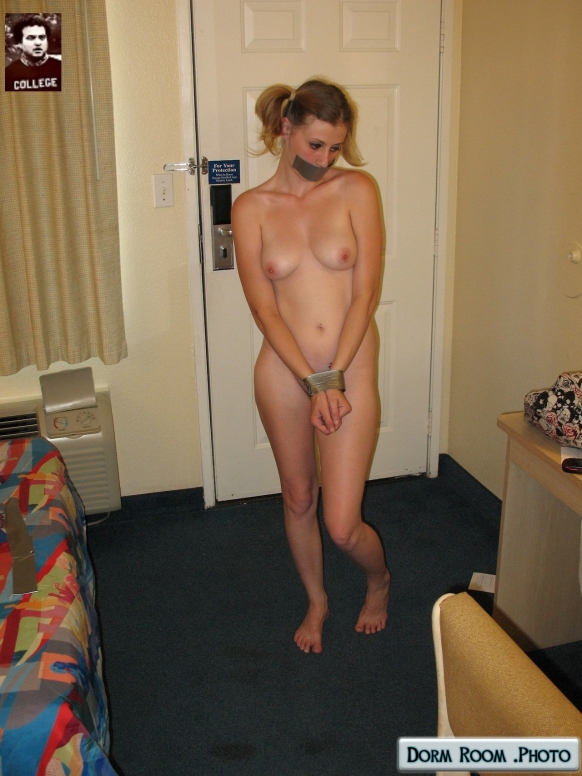 dorm girls Naked slave