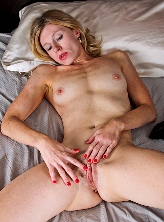 image Amateur skinny chick fucked on kitchen table
